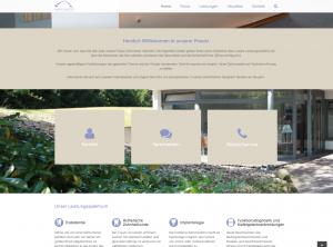 Übersicht der Webseite